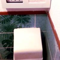 Gedicht bij een gesloten wc-rolhouder