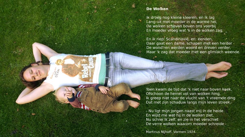 'De wolken' Martinus Nijhoff